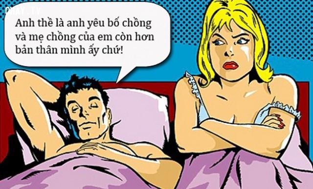 Câu nói hay châm biếm, mỉa mai trong quan hệ vợ chồng,câu nói hay,suy ngẫm,châm biếm thâm thúy,câu nói mỉa mai,câu nói châm biếm