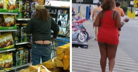 Chết cười với thảm họa thời trang từ những người vào Walmart