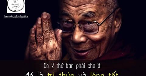 20 lời dạy của Đức Đạt - Lại Lạt - Ma, ai cũng nên nghe