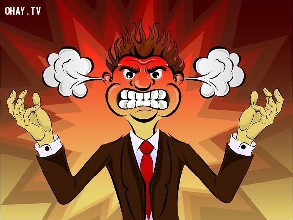 Bước 6: Hãy nhận ra rằng bạn đang tức giận,kiểm soát sự tức giận