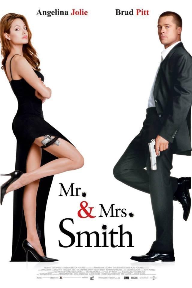 15. Ông bà Smith,phim tình cảm lãng mạn,phim hay,phim tình cảm hay nhất,lãng mạn