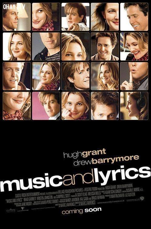16. Lời ca và tiếng nhạc ,phim tình cảm lãng mạn,phim hay,phim tình cảm hay nhất,lãng mạn