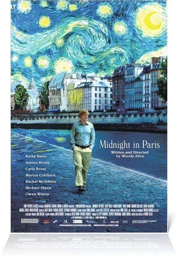 13. Nửa đêm ở Paris,phim tình cảm lãng mạn,phim hay,phim tình cảm hay nhất,lãng mạn