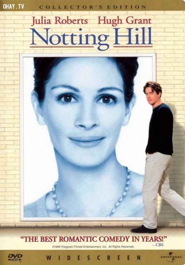 18. Chuyện tình Notting Hill,phim tình cảm lãng mạn,phim hay,phim tình cảm hay nhất,lãng mạn