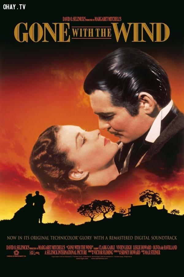 4. Cuốn theo chiều gió ,phim tình cảm lãng mạn,phim hay,phim tình cảm hay nhất,lãng mạn