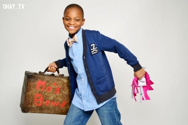 6. Moziah Bridges – Mo's Bows,triêu phú,làm giàu,tuổi teen,khởi nghiệp