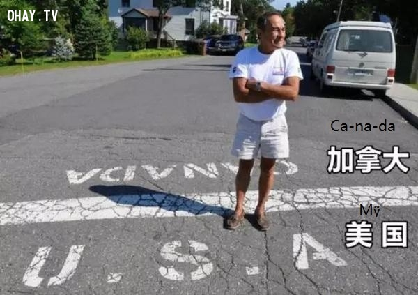 Đường biên giới Mỹ - Canada,biên giới quốc gia