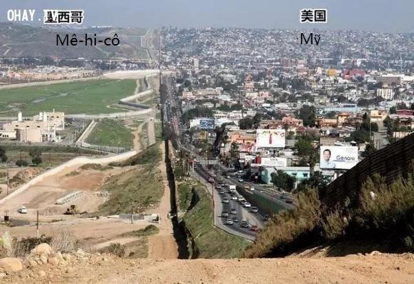 Đường biên giới Mexico - Mỹ,biên giới quốc gia