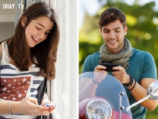Nên nhắn gì cho chàng trai bạn thích?,phụ nữ,đàn ông,tình yêu,tình yêu online,nhắn tin