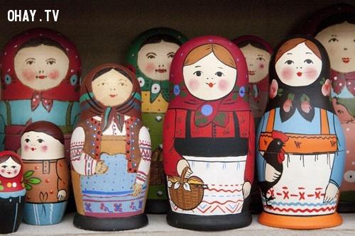 Búp bê Nga gợi về hình ảnh những người mẹ, người chị trong gia đình,búp bê Nga,ý nghĩa cuộc sống