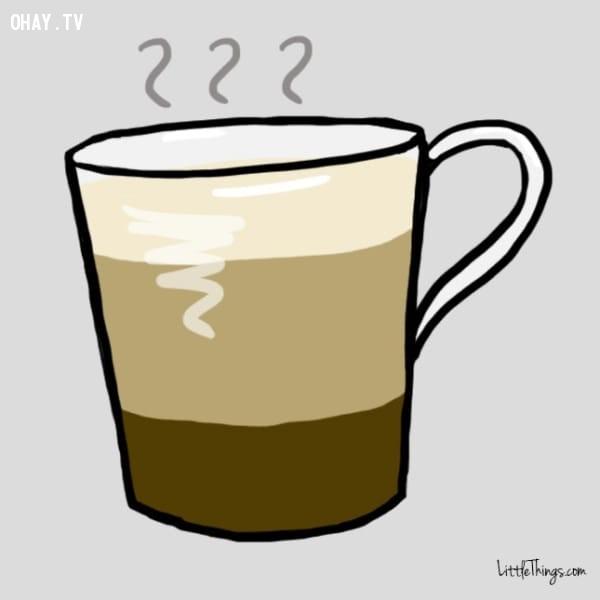 Latte,trắc nghiệm vui,cà phê,trắc nghiệm tính cách