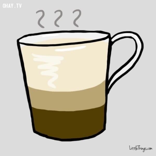 Cappuccino,trắc nghiệm vui,cà phê,trắc nghiệm tính cách