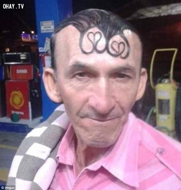 ,tóc nam,hài hước,tóc xấu