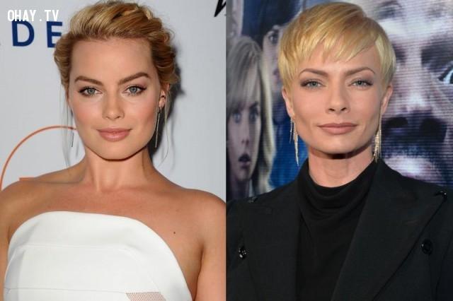 Margot Robbie và Jaime Pressly,sao Hollywood,những điều thú vị trong cuộc sống
