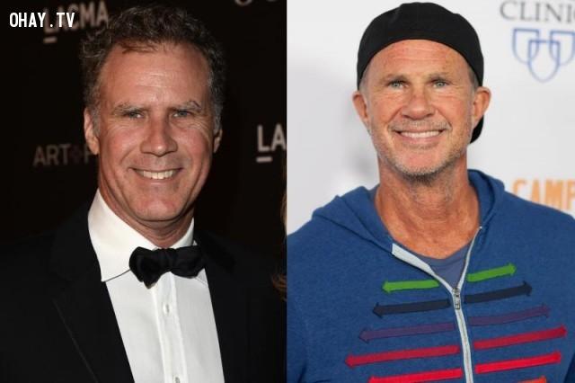 Will Ferrell và Chad Smith,sao Hollywood,những điều thú vị trong cuộc sống