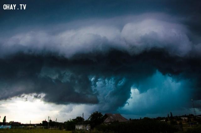 Một cơn bão đẹp nhưng cũng rất khủng khiếp.,ảnh đẹp,ảnh không photoshop