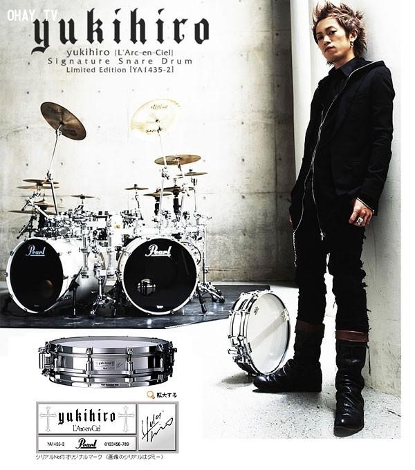 Yukihiro (Trống),ma cà rồng