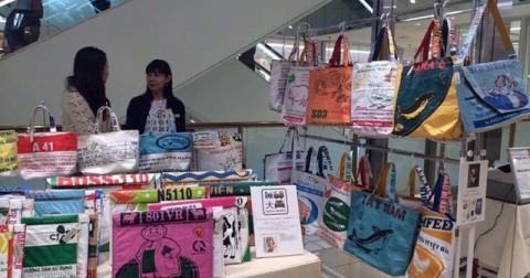 Túi cám con cò ở VN trở thành hàng hot khi qua Nhật