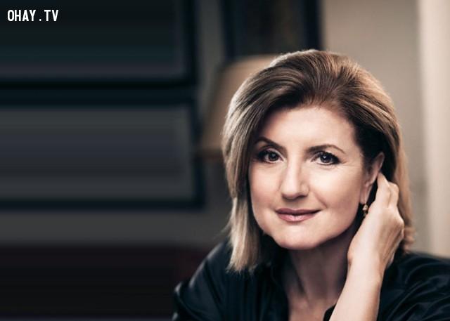 1. Arianna Huffington - Tổng biên tập tạp chí online Huffington Post,phụ nữ,thành đạt,khởi đầu ngày mới,buổi sáng