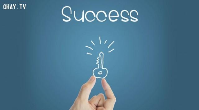 Chúc các bạn thành công và sớm tìm ra chìa khóa của cuộc đời mình! ,thành công,thất bại