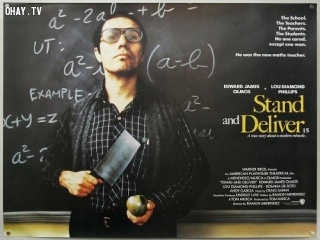 Stand and Deliver - Không bao giờ nghĩ học trò ngu dốt (1988),phim hay,phim tình cảm,truyền cảm hứng