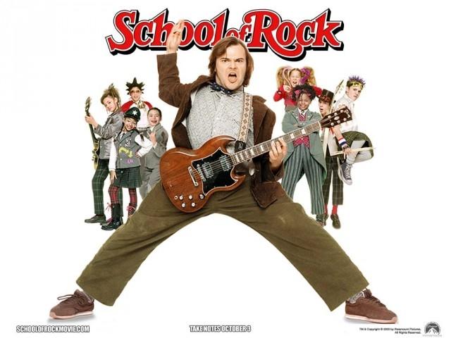 School of Rock - Rock Học Đường (2003),phim hay,phim tình cảm,truyền cảm hứng