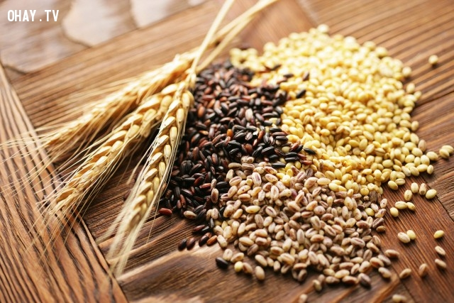 Ngũ cốc còn nguyên cám và các loại thức ăn không tinh chế,thức ăn,dinh dưỡng
