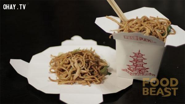Cách ăn mỳ Trung Hoa trong ly giấy đúng kiểu,thói quen,cách sử dụng đúng,đồ vật hàng ngày
