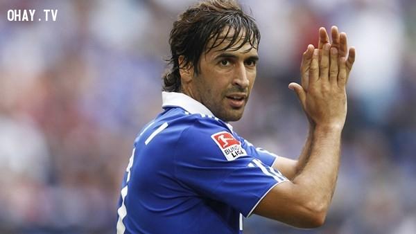 8. Raul,cầu thủ,bóng đá