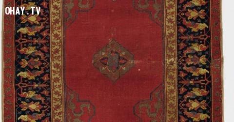 Thảm Ushak màu sắcvô cùng nổi bật