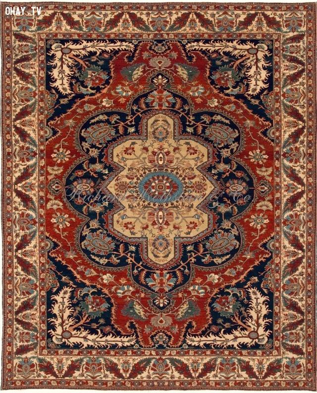 10. Thảm Tabriz,đồ dùng đắt tiền,đồ xa xỉ