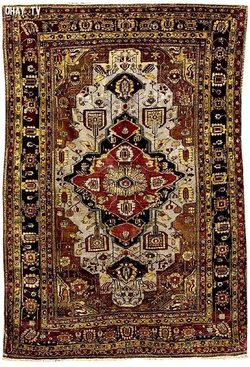 7. Thảm Mohtashem Kashan,đồ dùng đắt tiền,đồ xa xỉ