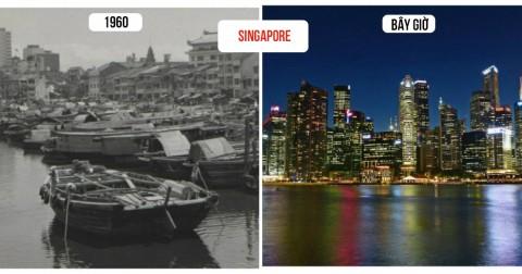 10 thành phố đã thay đổi chóng mặt theo thời gian