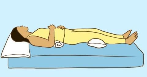 9 tư thế ngủ giúp chữa bệnh