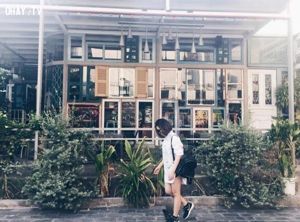 Nhà Ga 3A - Quận 1,sống ảo,giới trẻ Sài Gòn,check in facebook,ottd,địa điểm chụp ảnh đẹp