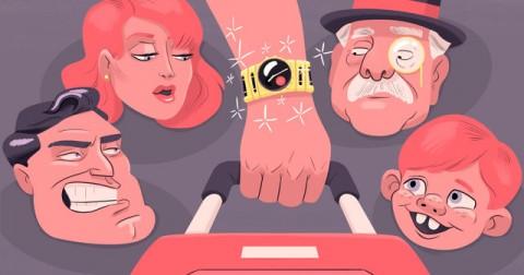 Tôi đeo một chiếc đồng hồ đắt tiền, và nhìn xem cách đối xử của mọi người thật khác biệt