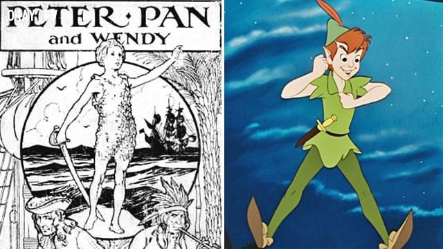 Peter Pan,những điều thú vị trong cuộc sống,sự thật kinh dị,sự thật đáng sợ,có thể bạn chưa biết,phim hoạt hình