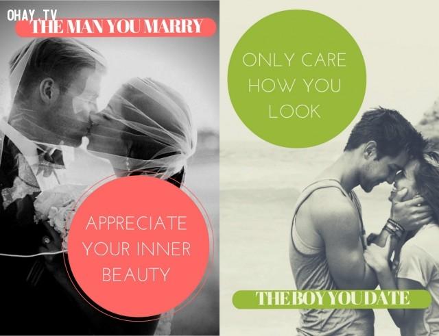 Những điều họ trân trọng ở bạn... ,hẹn hò,kết hôn,thay đổi,đàn ông