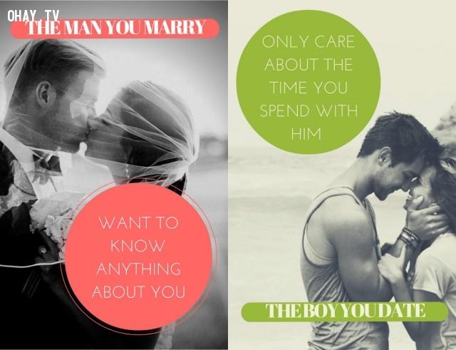 """Quan điểm về việc """"cho và nhận"""" ,hẹn hò,kết hôn,thay đổi,đàn ông"""