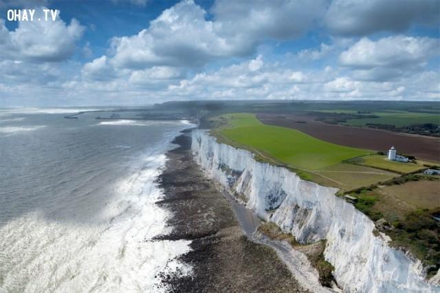 Vách đá trắng Dover, Anh,du lich,ngoan muc,quang canh