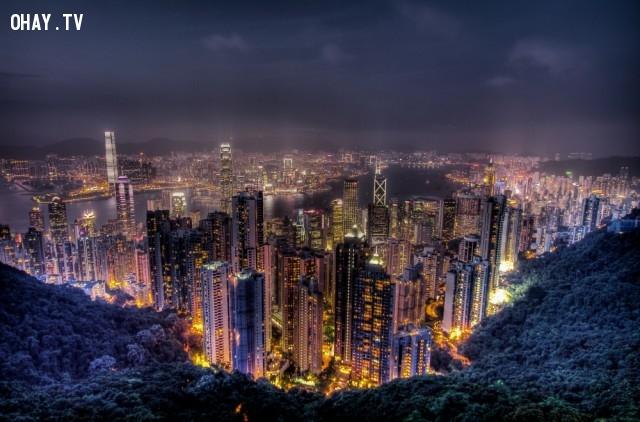 Đỉnh Victoria, Hong Kong,du lich,ngoan muc,quang canh