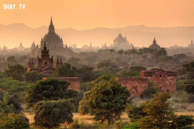 Bagan, Myanmar,du lich,ngoan muc,quang canh