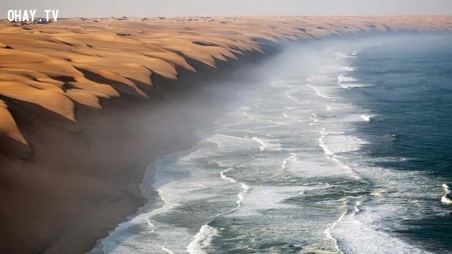 Điểm giao nhau giữa sa mạc Namib và Đại Tây Dương,du lich,ngoan muc,quang canh