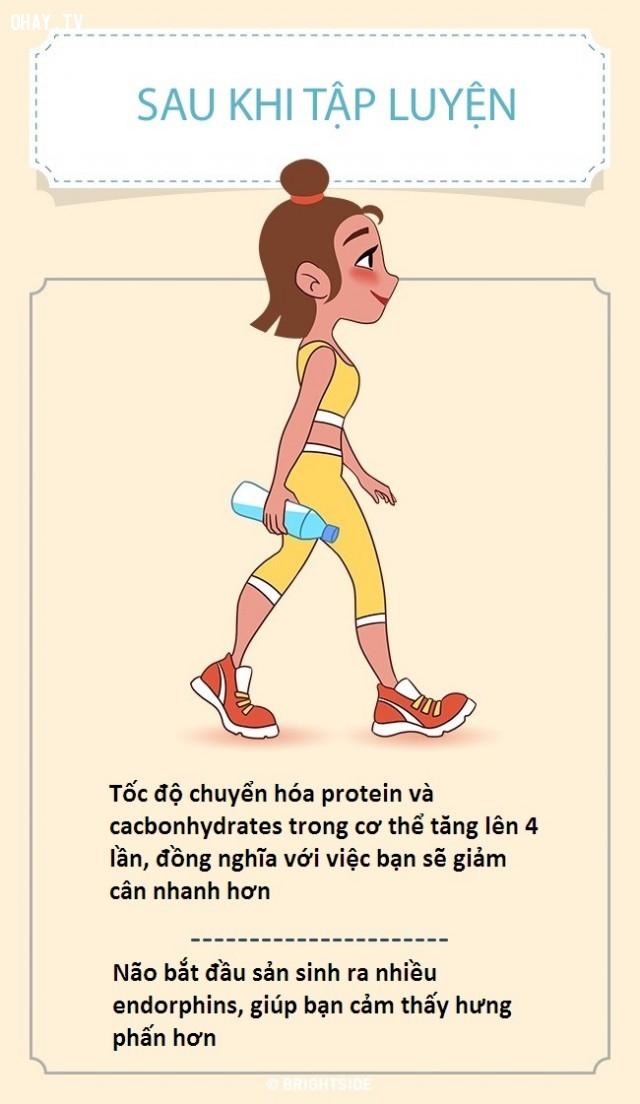 ,lợi ích khi tập thể dục,giảm cân,sức khỏe