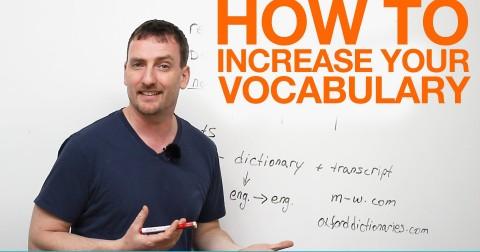 7 Lời khuyên cho việc học tập từ vựng tiếng Anh