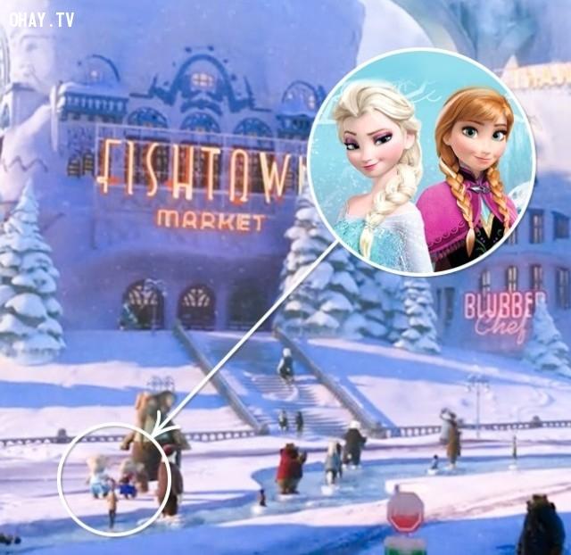 2. Zootopia - Phi vụ động trời/Nữ hoàng băng giá,chi tiết thú vị,phim hoạt hình,sự thật thú vị,những điều thú vị trong cuộc sống,những bộ phim hoạt hình nổi tiếng