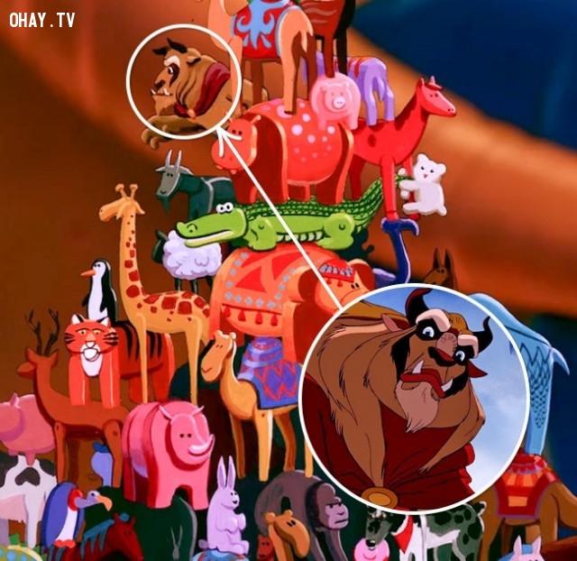 5. Aladdin và cây đèn thần/Người đẹp và quái vật,chi tiết thú vị,phim hoạt hình,sự thật thú vị,những điều thú vị trong cuộc sống,những bộ phim hoạt hình nổi tiếng