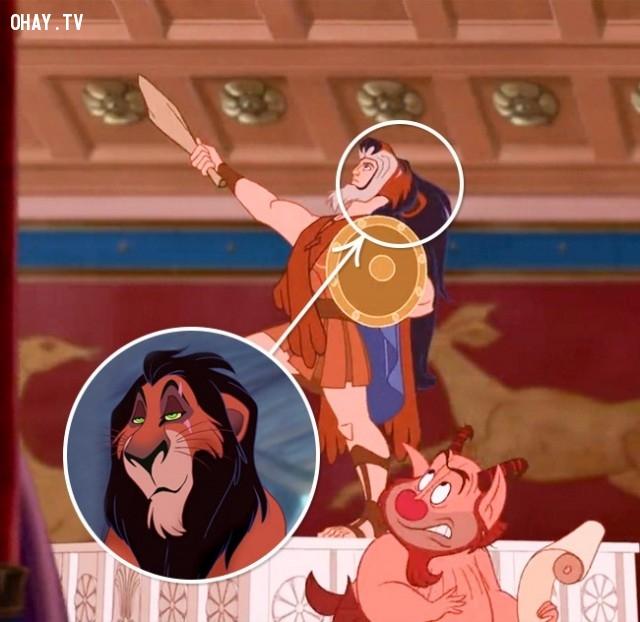 1. Chàng dũng sĩ Héc-Quyn/Vua sư tử,chi tiết thú vị,phim hoạt hình,sự thật thú vị,những điều thú vị trong cuộc sống,những bộ phim hoạt hình nổi tiếng