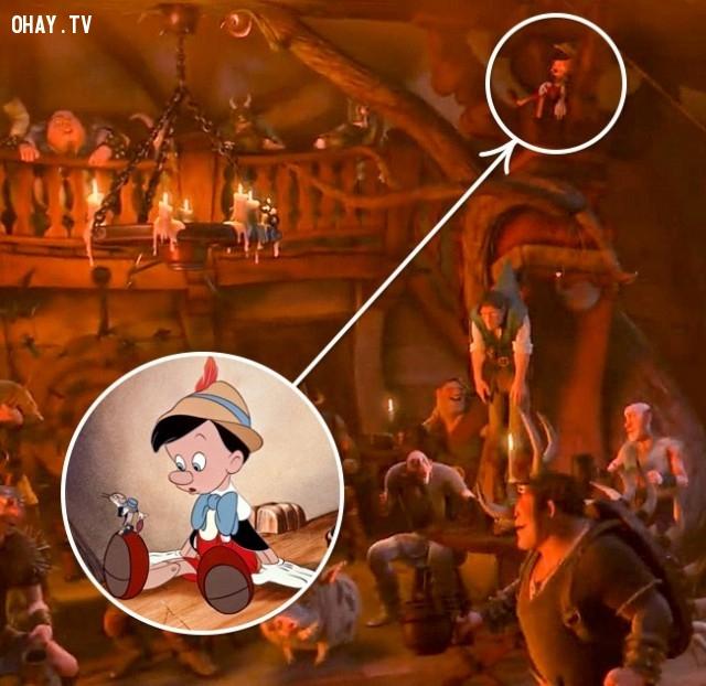 6. Công chúa tóc dài/Cậu bé người gỗ,chi tiết thú vị,phim hoạt hình,sự thật thú vị,những điều thú vị trong cuộc sống,những bộ phim hoạt hình nổi tiếng