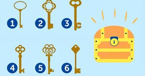 Chọn chìa khoá để trắc nghiệm tính cách của bạn